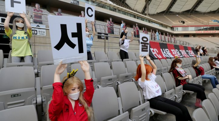 South Korean soccer team gets record fine for filling stadium with sex dolls